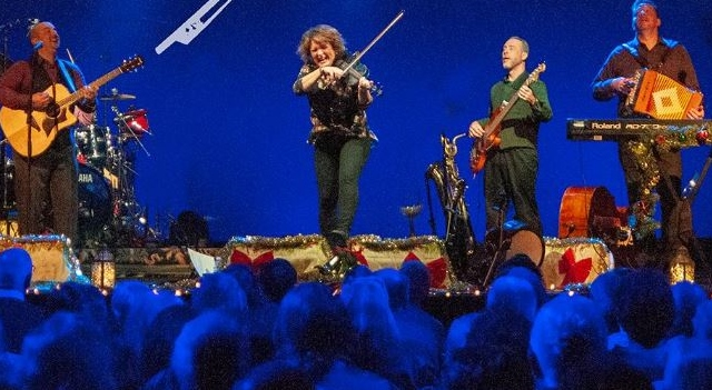 World famous fiddler, the electrifying Eileen Ivers, will rock your Christmas world