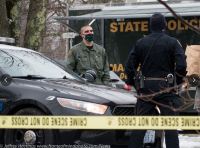 Police search for suspect in fatal stabbing of Mass. man
