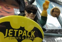 Comic book creators' signing session doubles as back-to-school fund-raiser