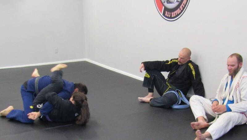 With Brazilian Jiu Jitsu bigger and stronger meets its match
