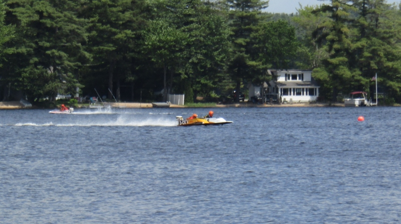 Hydroplanes put on a show for Milton Summer Kickoff