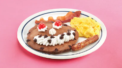 IHOP serves up gluten free waffles and a deliciously decadent kids' pancake