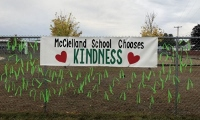 At McClelland School, hoping kindness breaks out one bracelet at a time