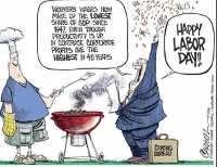Happy Labor Day! So could it get much worse?