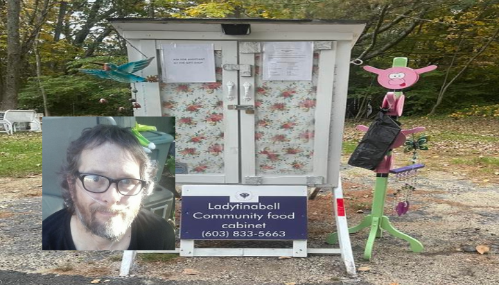 Farmington's 'Kindness Cabinet' that helps the hungry gets new home in Milton