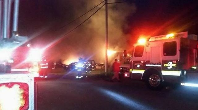 Lebanon fire that destroyed camper, cars called suspicious