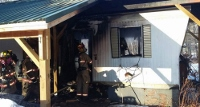 Fire that swept through mobile home ruled accidental