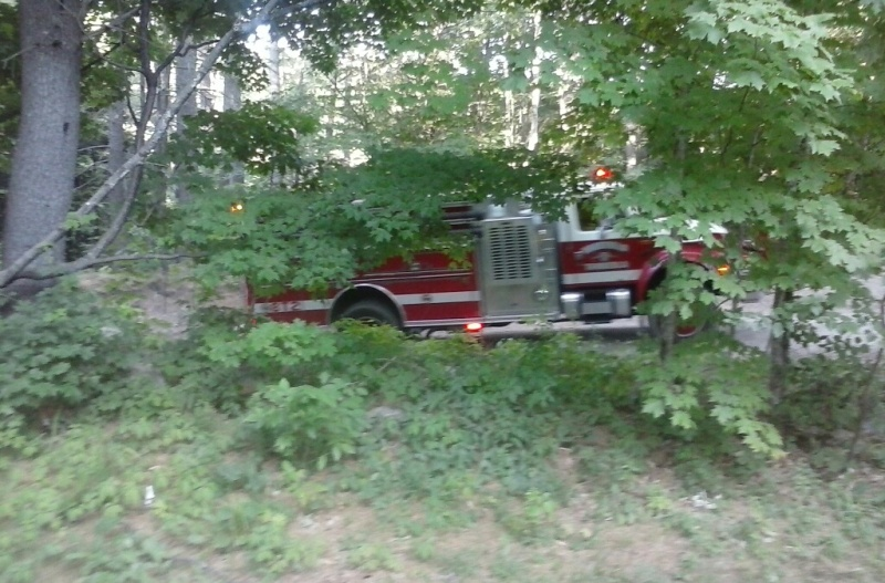 Lebanon woods fire at site of earlier blaze brings firefighters back