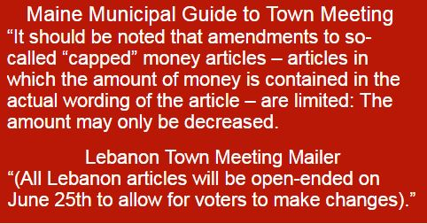 Town mailer appears to rebut MMA meeting rules guide