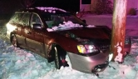 Slippery roads eyed in two Lebanon crashes on Friday
