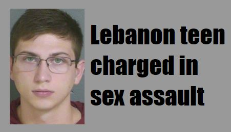 Lebanon teen charged in sex assault of 14-year-old