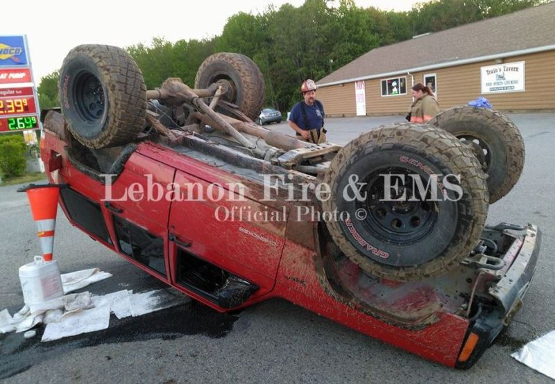 Four injured in two separate accidents on Saturday