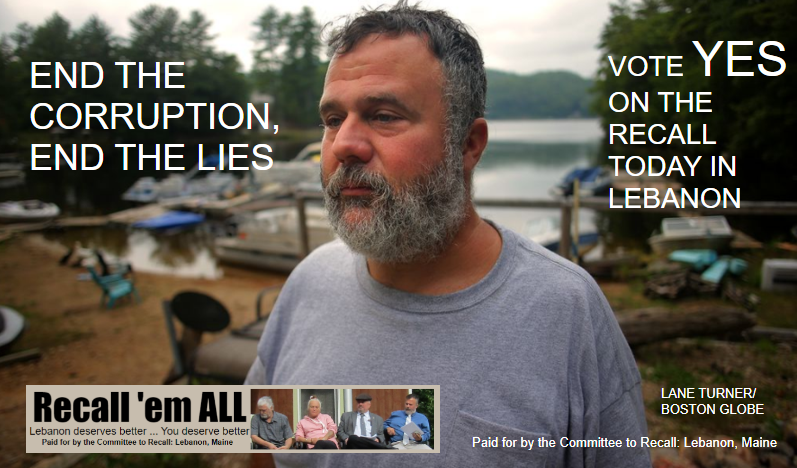 Paid advertisement: End the lies, end the corruption: Vote yes on the recall
