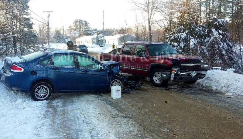 2 injured in head-on crash on Little River Road bridge