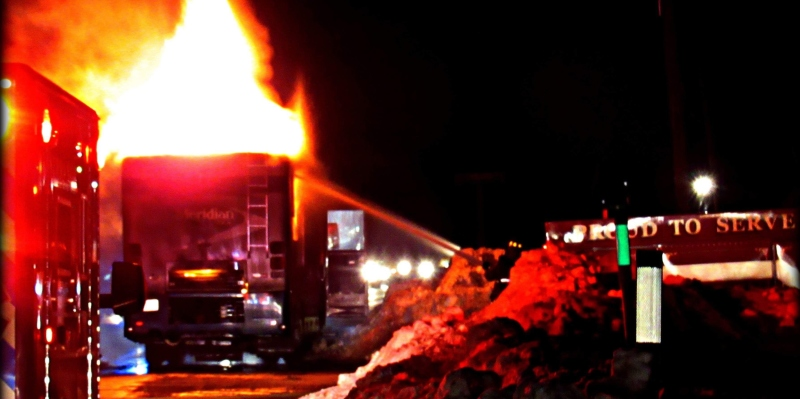 RV becomes traveling inferno on Rt. 202 in E. Lebanon
