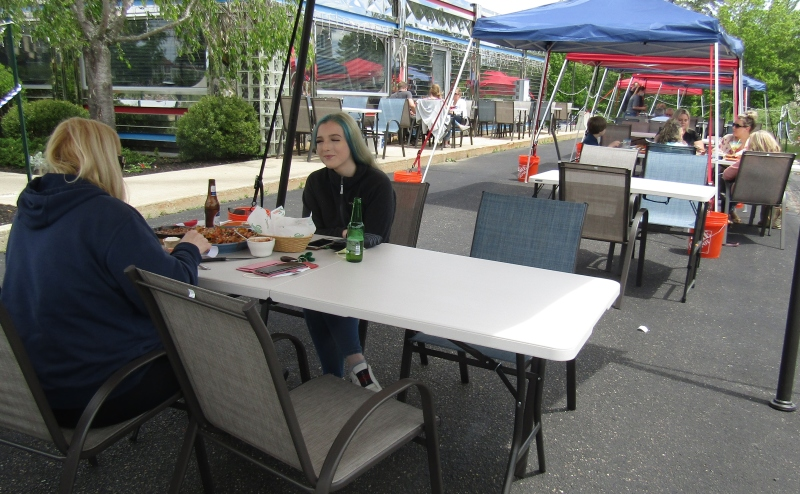 The outdoor dining game: precarious, unpredictable and probably not sustainable