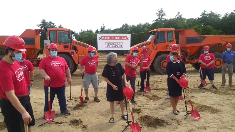 Sununu salutes Lydall groundbreaking, announces $7M fund to help veterans