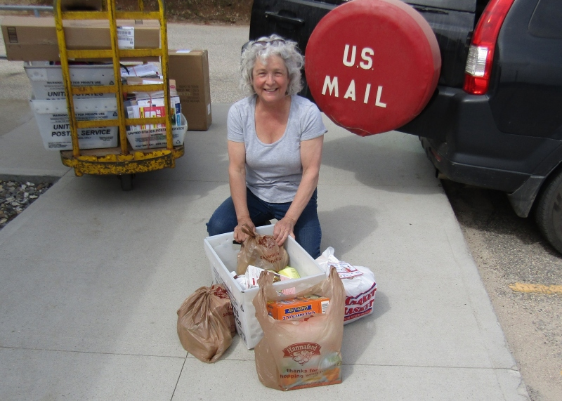 Delivering the Goods: Letter carriers step up to the plate to help feed the needy