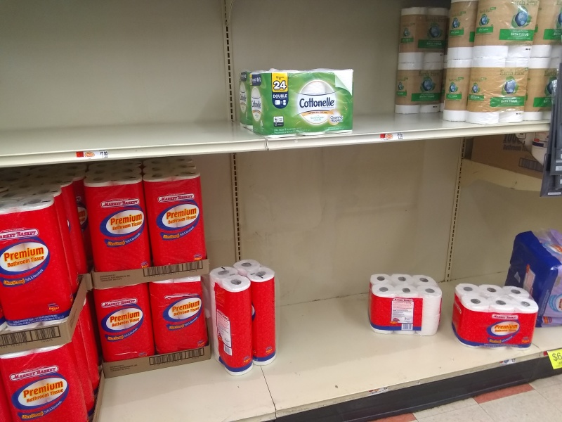 Toilet paper sells out as COVID-19 supply chain fears mount
