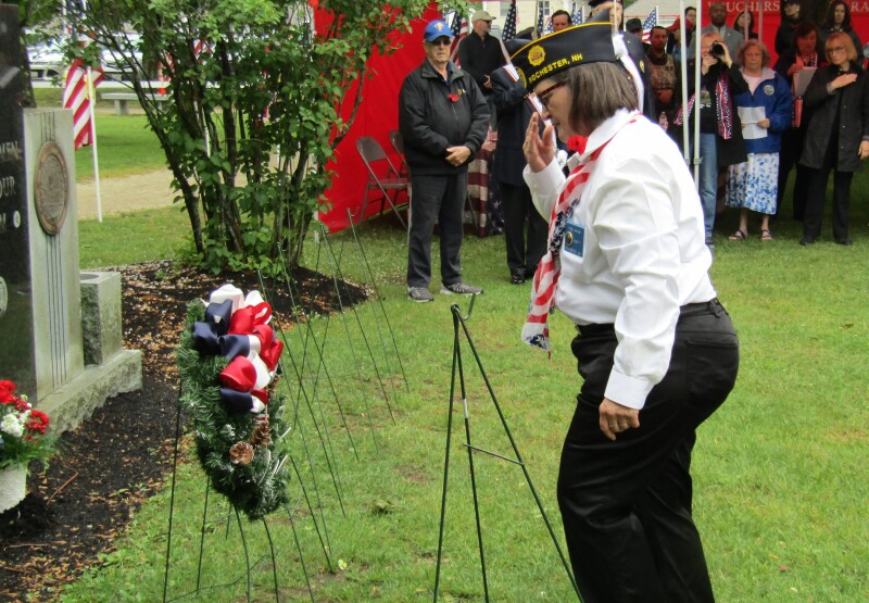 Rochester turns out a large crowd to honor those who gave all to keep us free