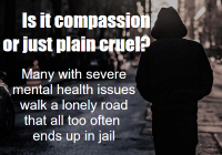 Those with serious mental issues need 'asylum, in the good sense of the word'