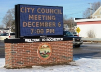 New City Hall message board to promote community, gov't events