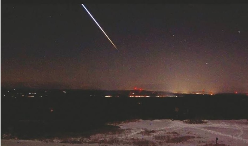 Meteorite sighting a late Christmas gift for sky watchers