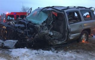 One dead, one hurt in head-on Route 16 crash in Milton