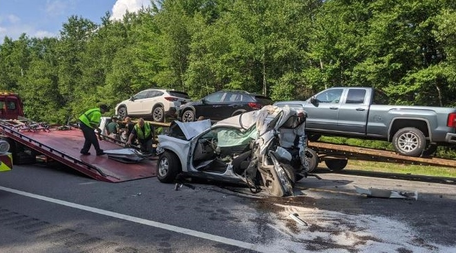 Dover man among injured in four-car crash on Route 16 in Milton