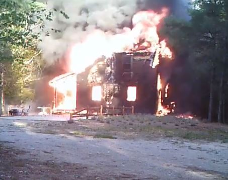 Milton home razed by apparent electrical fire on Friday