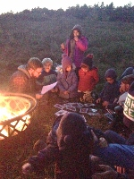 Just in time for Halloween, spooky tales told by a crackling bonfire