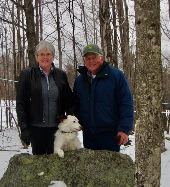 Farmington couple have now helped to conserve 140 acres of prime forest and field