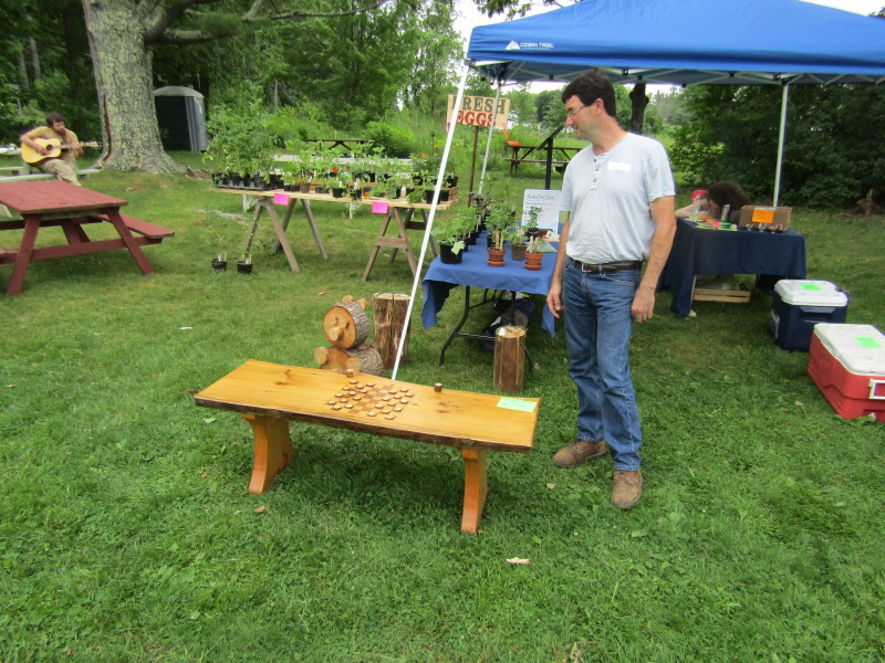 Monkey see monkey do: Love of woodworking spawns part-time passion