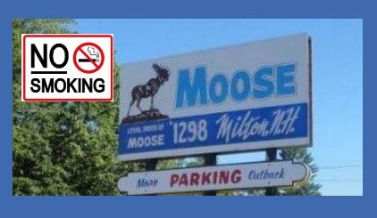 At the Milton Moose, a breath of fresh air as fraternal club goes smoke-free