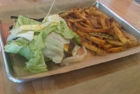 Mooyah's top of the line beef, handcut fries don't disappoint