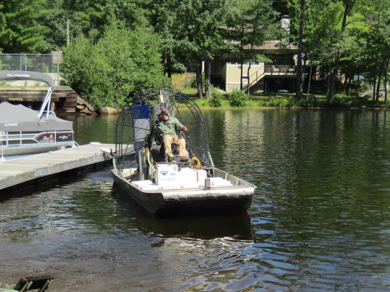 MTP aquatic threat continues to make incursions downstream, DES scientist says