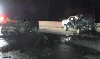Two drivers killed in head-on turnpike collision