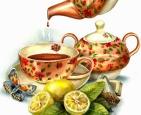 Enjoy a spot of tea Victorian style at the NH Farm Museum