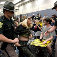 Protesters arrested as Exec. Council rejects $27M in fed vax contracts
