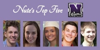 Nute announces Top Five graduating seniors