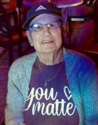 Anne Garceau ... enjoyed motorcycle trips; at 75