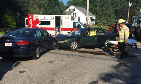 Elderly city man sustains life threatening injuries in Old Dover Road crash