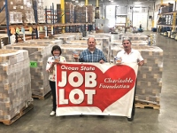 OSJL donates 26 pallets of food to help needy kids in NH with summer food insecurity