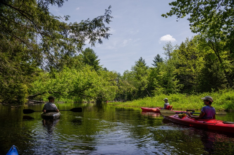 Spring's charms in full bloom at upcoming Branch River Paddle