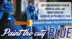 2nd annual 'Paint the City Blue' day seeking sponsors