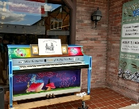 Outdoor piano offers a note-worthy option in the performing arts