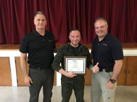 Sheriff's deputy recognized for completing conflict resolution program