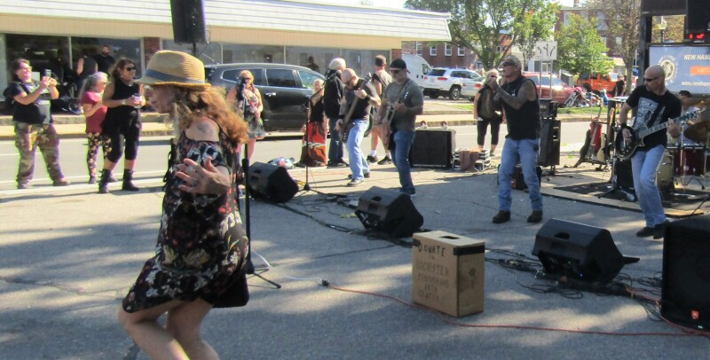 A musical feast: Festive crowd gathers for city's annual Porchfest celebration