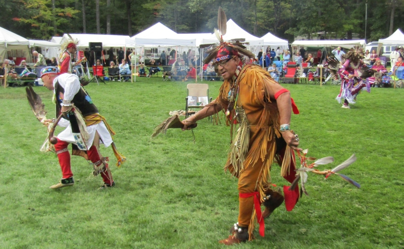 Unlike DC, pride, respect and camaraderie on full display at Abenaki Powwow