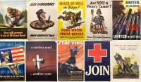 Military posters from WWI, WWII to be shown at RPL